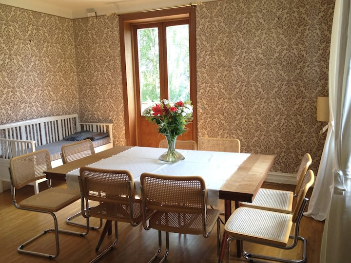 Central Lund Private Rooms in House with Garden