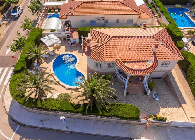 ZAFIRO Villa piscina privada, jardín