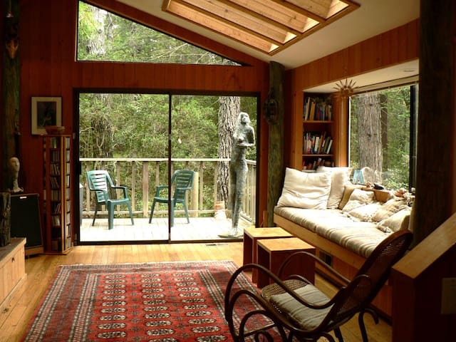 Lovely Quiet Retreat in Redwoods - Sea Ranch - Rumah