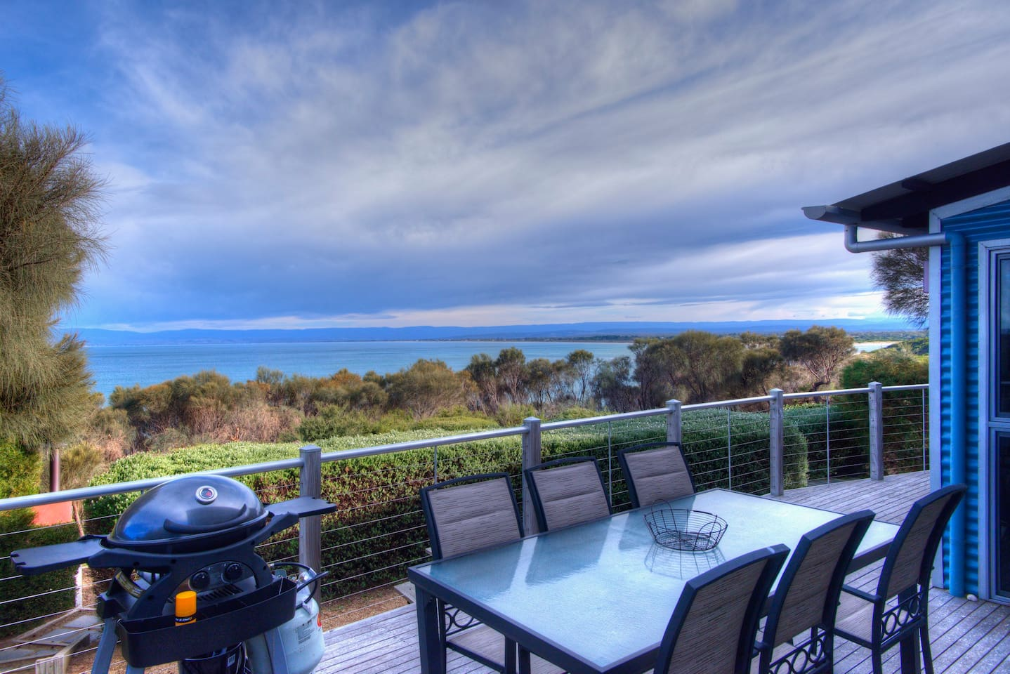 Stunning ocean views overlooking the Great Oyster Bay