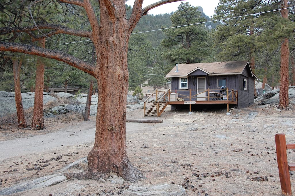 vacation cabin in estes park cabins for rent in estes