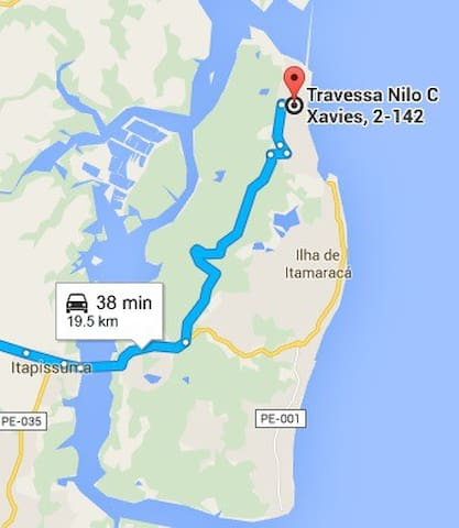 Casas Itamaracá-PE- Praia Sossego/Enseada dos Golf - Ilha de Itamaracá - Casa