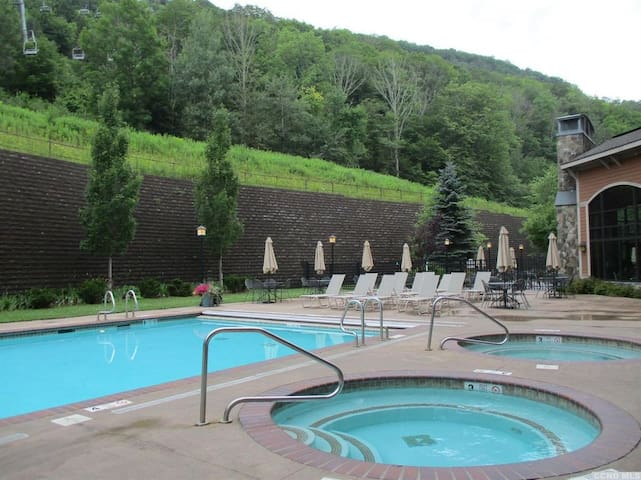 Stay Slopeside 4 SEASON FUN w/Pool & Hotel Access
