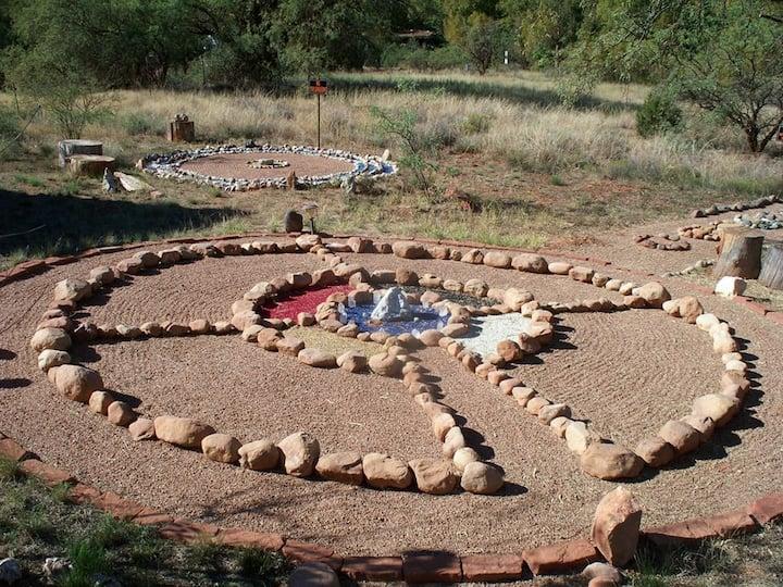 Traditional Medicine Wheel Circle