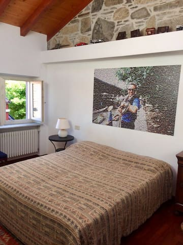 2nd bedroom on the second floor. If necessary, it could be arranged into two single beds or even a triple room.