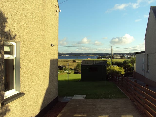 Comfortable Stornoway home and beautiful outlook.