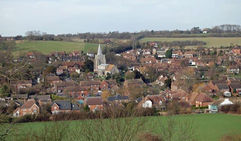 Elham Village ,Elham Valley, Canterbury.