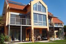 Feng-Shui-Apartment bei Regensburg