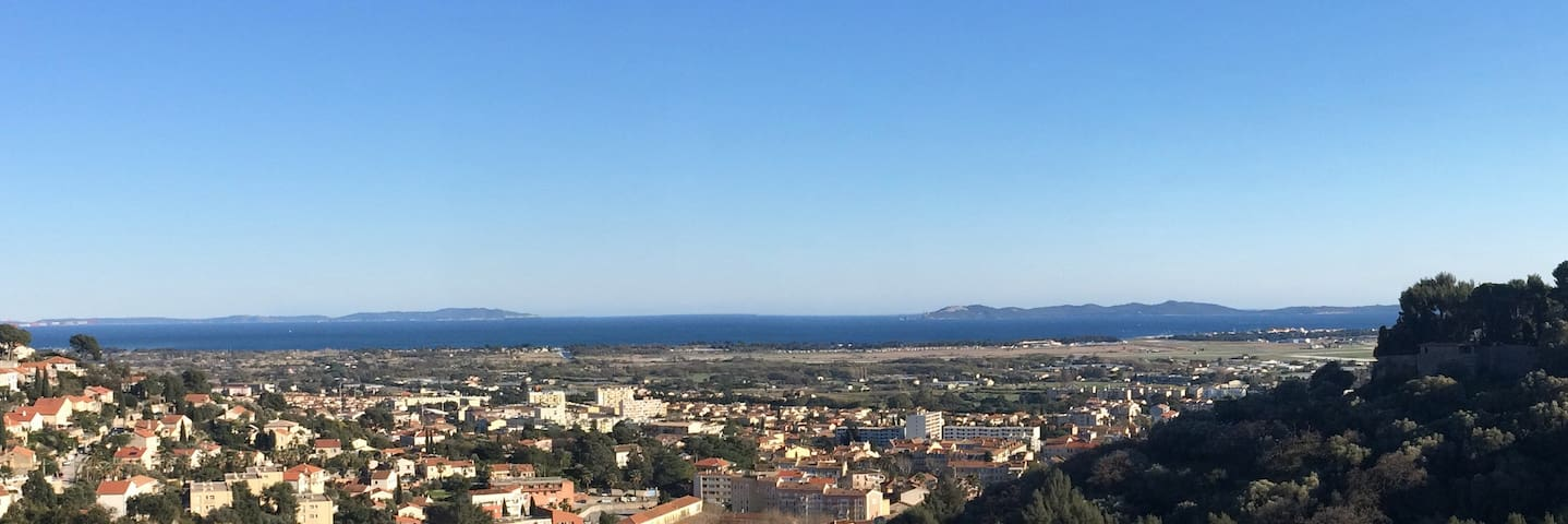 Fantastic view and totally peaceful - Hyères - Villa