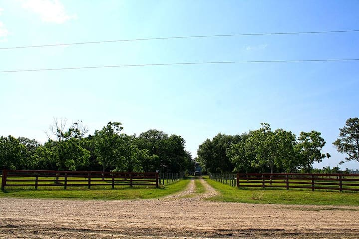 Authentic Texas Ranch located 15 minutes from 59 S - Needville - Maison