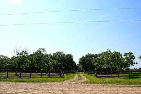 Authentic Texas Ranch located 15 minutes from 59 S - Needville - Ház