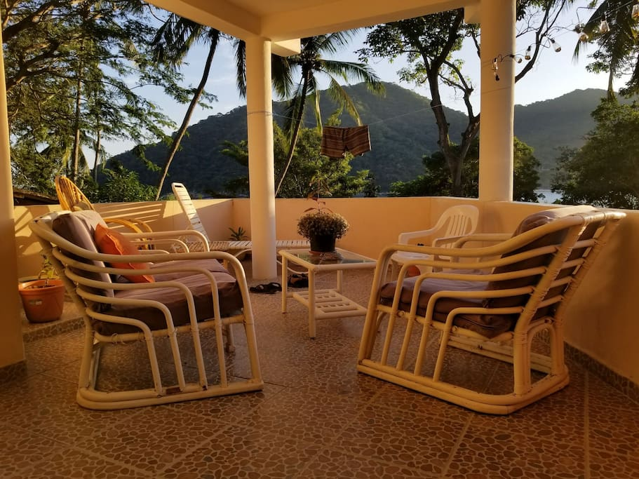Golden Hour at Casa Anahí in the morning...