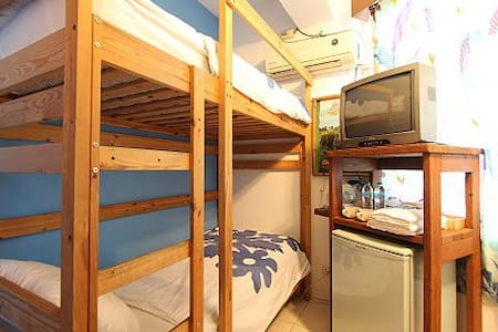 Bunk Bed Private Room for 2-person