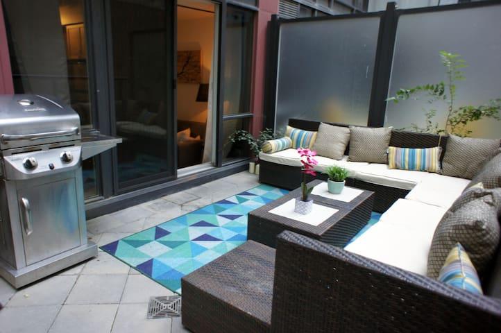 Entire Luxury Suite w/PRIVATE terrace & Parking!