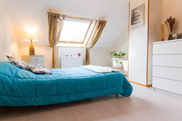 Une chambre confortable ,calme