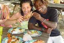 Best Swahili BBQ ever… at Safari Blue!!