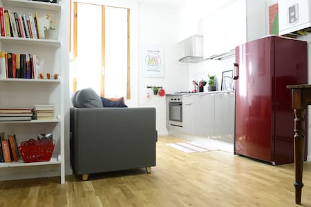 Comfortable accommodation in Pratello street - Bologna - Apartemen