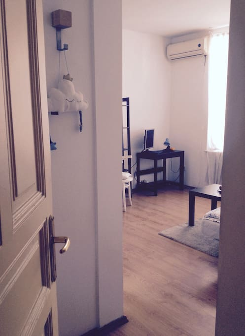 Your room - entrance