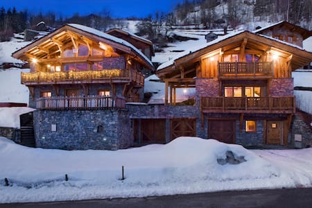 Luxury chalet in French Alps