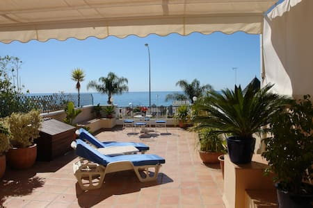 LOVELY FRONTLINE BURRIANA BEACH - Nerja
