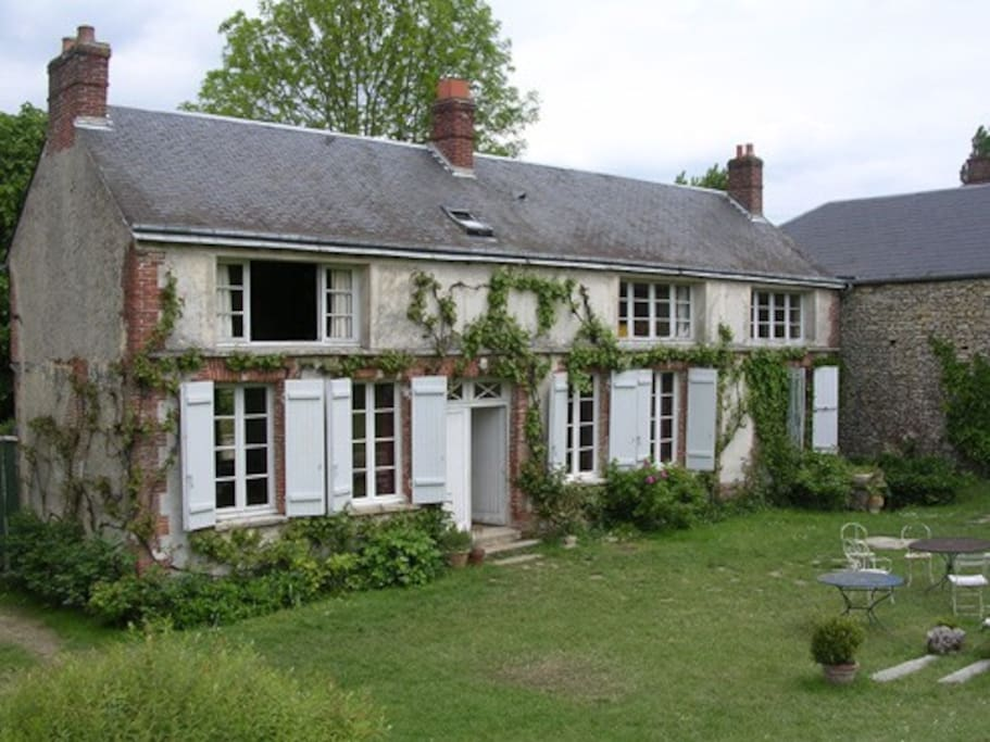 Maison de charme vexin fran ais houses for rent in dampsmesnil upper norma - Maison de charme normandie ...