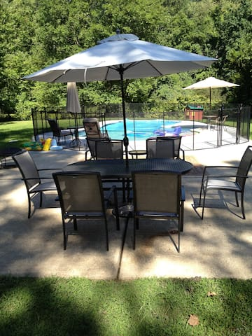 All-inclusive w/pool family perfect - Wilton - Ev