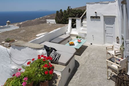 Unique traditional stone house at Isternia! - Tinos - Haus