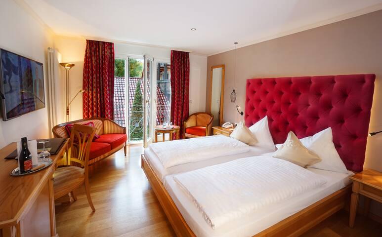 Hotel-Restaurant Rebstock, (Durbach), 1 Plauelrain Doppelzimmer