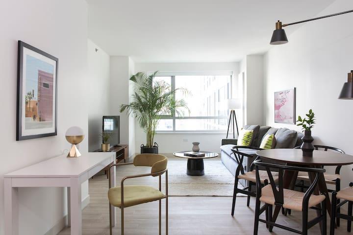 Sonder   8th Apartments   Beautiful 1BR + Gym
