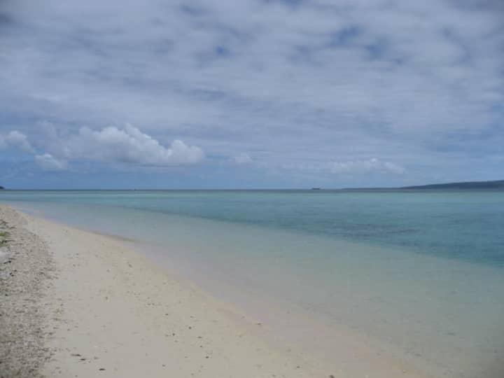 Vanuatu Beach Front Villa.