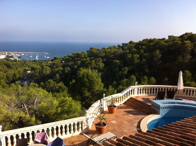 Sea View Villa, Heated Private Pool - Costa d'en Blanes - Villa
