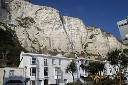 SAME STREET as The White Cliffs! - Dover