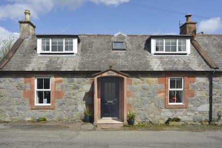 Cosy cottage in quaint Scottish village