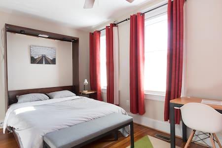 Eco-Friendly Capitol Hill Row House - Metro Room - Washington
