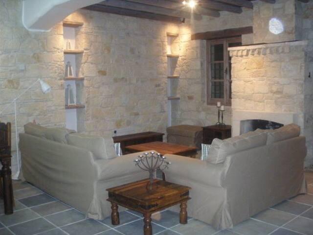 appartements, maisons et villas avec piscine à sykopetra - airbnb, Garten dekoo