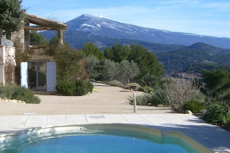 Dream villa in Provence with pool - Saint-Hippolyte-le-Graveyron - Villa