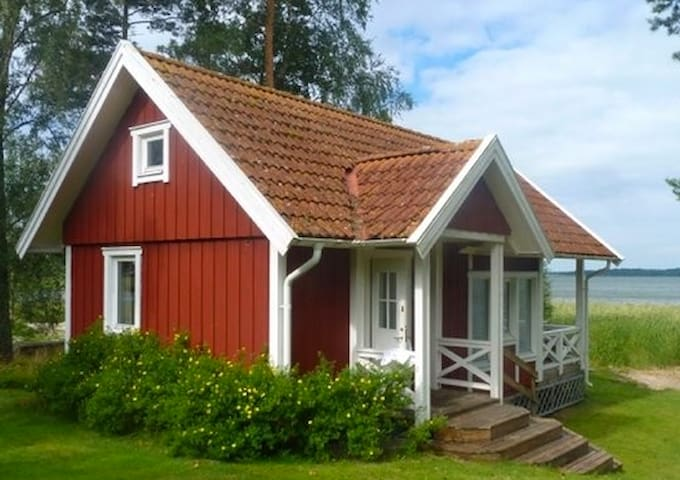 Great location by lake Vänern!   - Mariestad - Chatka