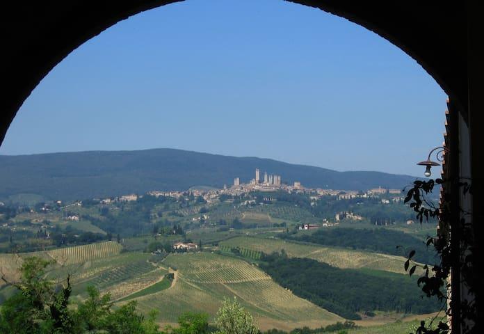 San Gimignano appartment à la campagne