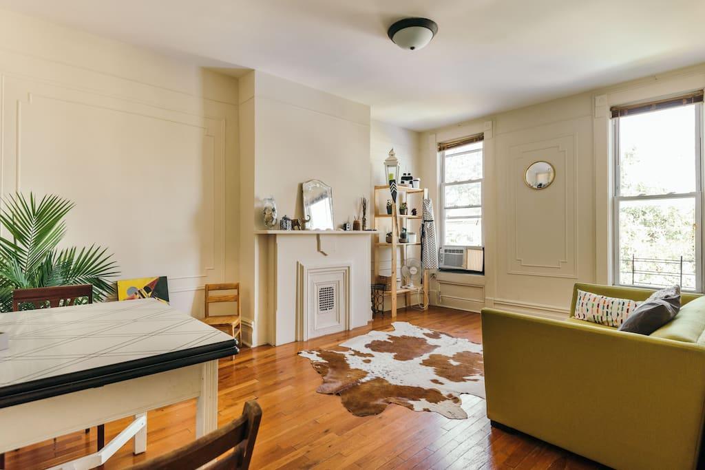 Sunny brooklyn townhouse apartment appartements louer - Bel appartement de ville brooklyn new york ...