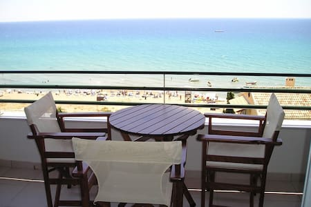Glyfada beach apartment 2-4 people - Corfu - Leilighet