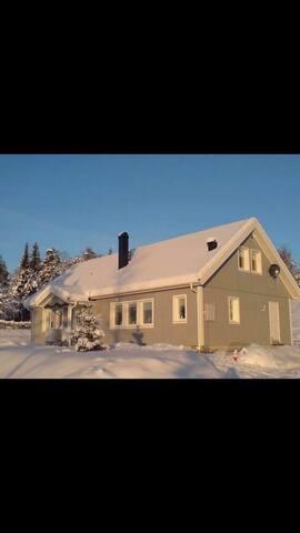Fint boende i Älvdalen. Nära till skidåkning.