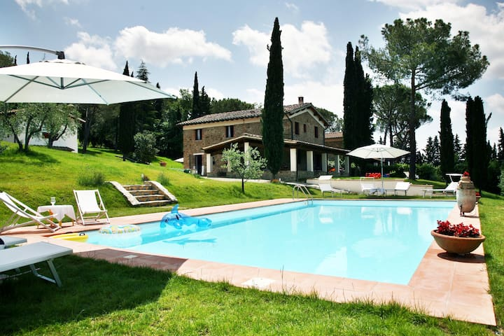 "Villa ""ClaRo"" Private Pool Greve Chianti Firenze - Greve in Chianti - Villa"