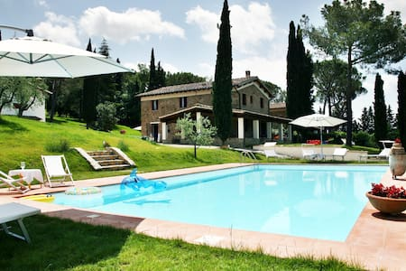 VILLA CLARO PRIVATE POOL CHIANTI FLORENCE - Greve in Chianti