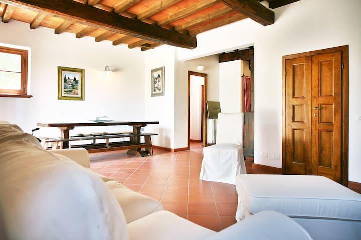 VILLA CLARO PRIVATE POOL CHIANTI FLORENCE - Greve in Chianti - Villa