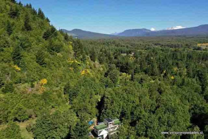 Nature paradise B&B 8mn from Pucon center