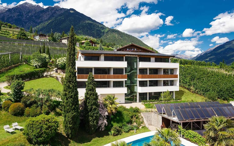 luxery penthouse apartments near merano - Dorf Tirol - Apartament