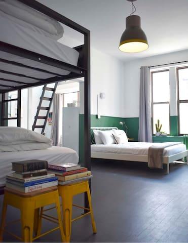 Modern Vibes in a Vintage Loft