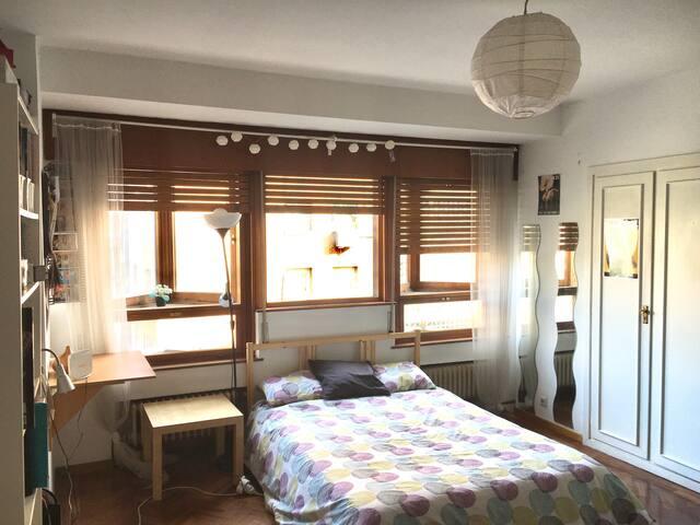 Bonito apartamento con vistas Castellana/Bernabeu