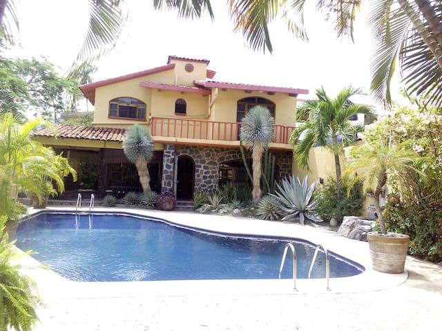 Bonita casa vacacional