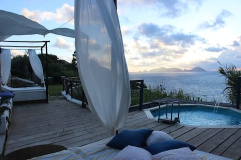 COCOON TERRACE SUNSET SEAVIEW AND POOL